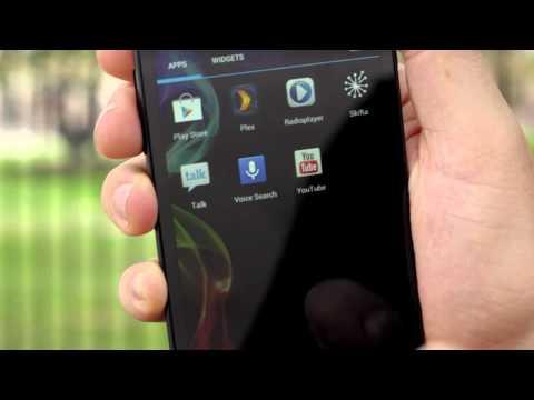 Archos 50 Platinum dual-sim phone video review
