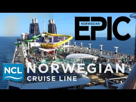 Norwegian Epic 2017 Tour & Review with The Legend