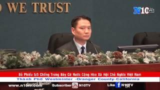 Nghị Quyết Cấm Cờ Cộng Hòa Xã Hội Chủ Nghĩa Việt Nam Tại Mỹ   Tp Westminter