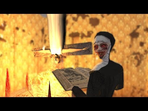 Granny vs Evil Nun vs Slendrina funny animation part 35 (видео)