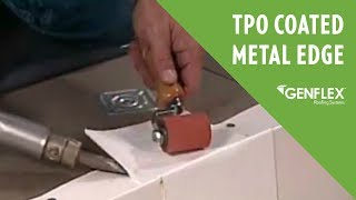 TPO Coated Metal Edge