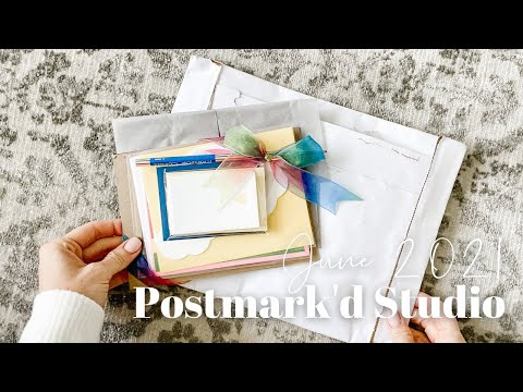Postmark'd Studio Unboxing June 2021