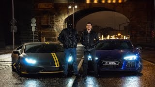 Lamborghini huracan vs Audi R8 V10+ LIFE Vlog LIMMA