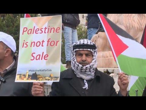 Παλαιστινιακό «όχι» στο ειρηνευτικό σχέδιο Τραμπ