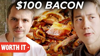 $2 Bacon Vs. $100 Bacon - Video Youtube