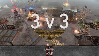 Dawn of War 2 - Faction Wars 2018 | Orks vs Chaos Space Marines #2