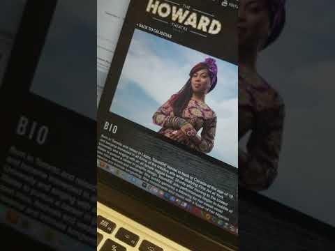 My profile on Howard's Theatre Website for Open Performance for Les Nubians