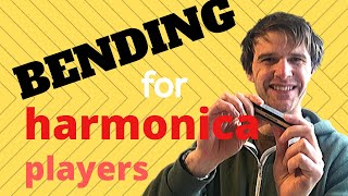 How to bend notes on the harmonica