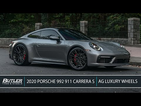 2020 Porsche 992 911 Carrera S | AG Luxury Wheels | Butler Tire