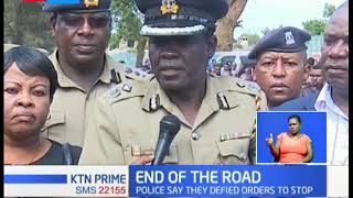 6 robbery suspects killed in Eldoret, Police say they defied orders to stop