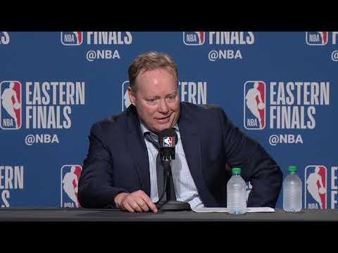 Mike Budenholzer Postgame Interview - Game 3 | Bucks vs Raptors | 2019 NBA Playoffs
