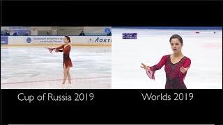 Evgenia Medvedeva SP - Tosca | Cup Of Russia Vs Worlds