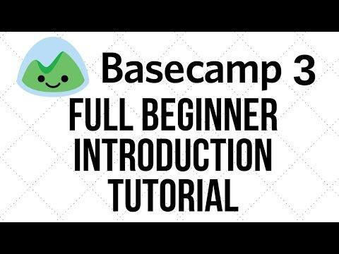 Basecamp 3 Beginner Introduction Training Tutorial - YouTube