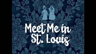 Meet Me in St. Louis (1944) Original Titles Sequence