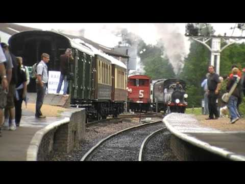 Bluebell Railway 50th anniversary promotional video