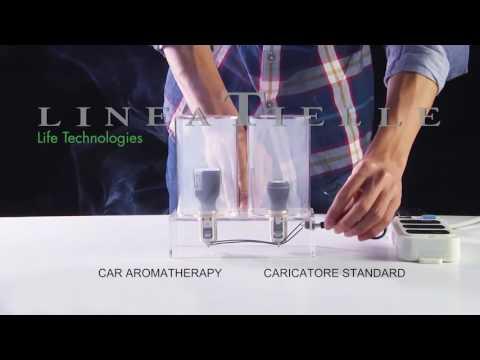 Ionizzatore e profumatore d'aria per auto
