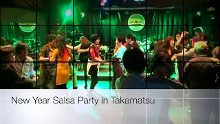 New Year Salsa Party in Kagawa