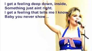 Duffy - Serious ( instrumental / kareoke / lyrics )