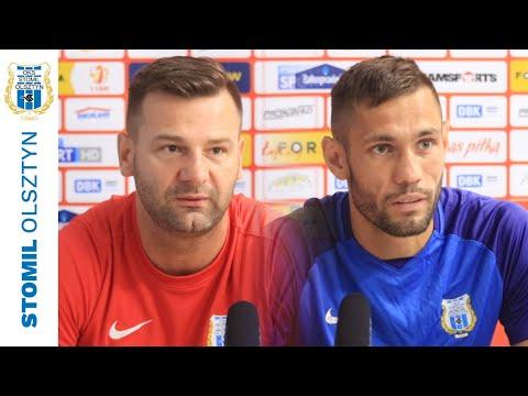 Konferencja prasowa przed meczem Widzew Łódź - Stomil Olsztyn