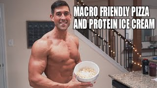 Macro Friendly Pizza and Protein Ice Cream/ Thick Milkshake Recipe