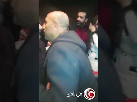 """بالفيديو- كريم عبد العزيز وغادة عادل يحتفلان بـ """"نادي الرجال السري"""""""