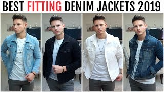 BEST FITTING DENIM JACKETS FOR MEN 2019 | River Island, New Look & More | Mens Fashion