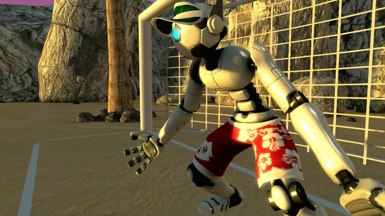 Supa-Fun-Robo-Goalie-Beach-Time in PlayStation Home