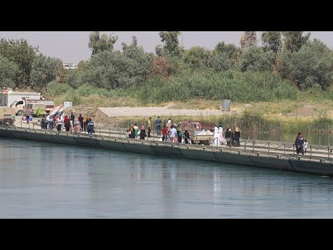 West Mosul a deserted, shattered city