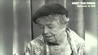 Eleanor Roosevelt On Why She Had No Respect For Nixon