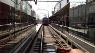 preview picture of video '長春のライトレールに乗ってみる@長春駅 Light Rail at Changchun Station, China'