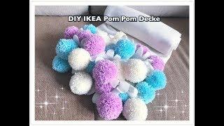 DIY IKEA Polarvide Bommeldecke / IKEA Pom Pom Blanket