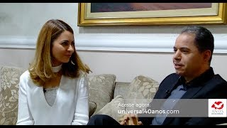 Bispo Domingos Siqueira e Núbia Siqueira