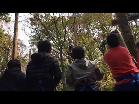 6年生ー徳地冒険遊びーなぎさ公園小学校