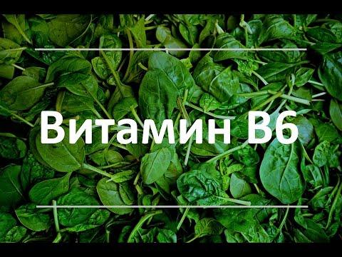 Витамин В6 - польза для здоровья, признаки дефицита, дневная норма. Продукты, богатые витамином В6