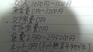 月の生活費5万円(年間生活費60万円)の家計簿公開!