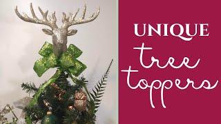 Christmas Tree Topper Ideas!
