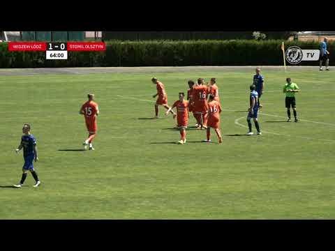 Widzew - Stomil (gol na 2:0 - Michael Ameyaw)