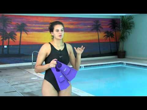 How to Kick With Swim Fins
