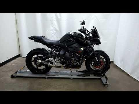2017 Yamaha FZ-10 in Eden Prairie, Minnesota - Video 1