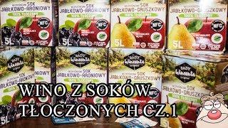 Przepis na wino z soków tłoczonych wg Malinowynos.pl
