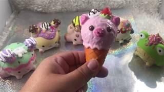 PIGGY ICE CREAM CONE SQUISHY DECO TUTORIAL