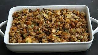 No-Fail Signature Thanksgiving Stuffing - Kitchen Conundrums with Thomas Joseph