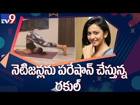 Rakul Preet Singh shows off her flexible body in this latest video, looks fit as a fiddle - TV9