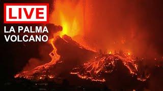 🌎 LIVE: La Palma Volcano Eruption, the Canary Islands (Feed #2)