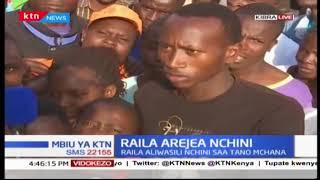 Wakazi wa kibera watoa hisia zao khusiana na kuzuiliwa kwa Raila Odinga: Mbiu ya KTN