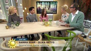 Tre Elever Lämnade Identiska Svar - Fick Olika Betyg - Nyhetsmorgon (TV4)