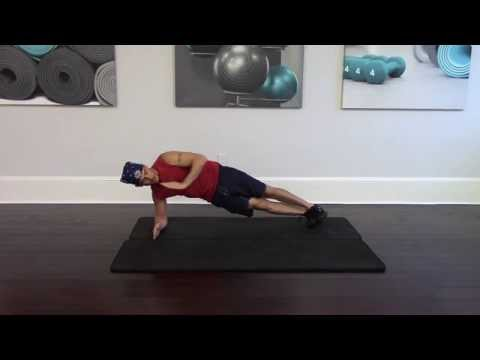 How to do a Side plank and star plank