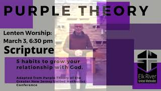 Wednesday Night, Lenten Worship: March 3, 2021
