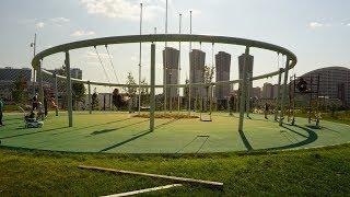 Новый парк на Ходынском поле.