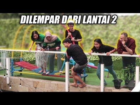 WHISPER CHALLENGE YANG KALAH DICEBUR PAKSA DARI LANTAI 2!!! Wedding Agreement X TIM RICIS!!